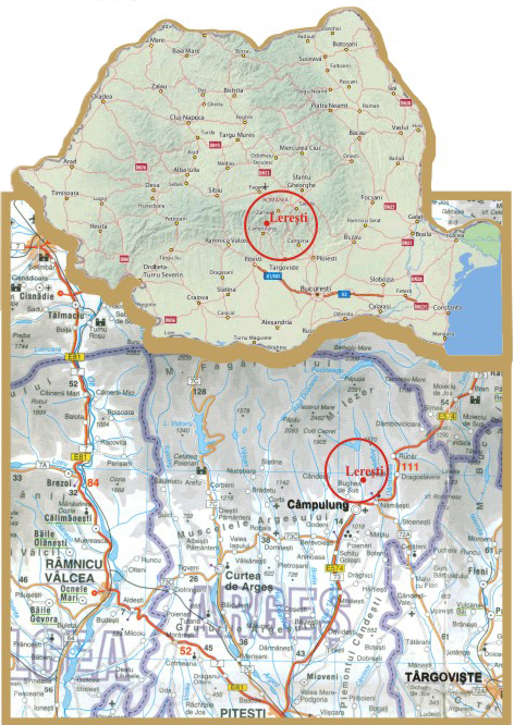 Harta Hotel Poiana Lerului Localizare Si Acces La Hotel Poiana
