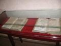 Imagini cu carti vechi | Biblia scrisa in latina la Muzeul Din Fagaras | Fotografii cu Biblia in limba Latina