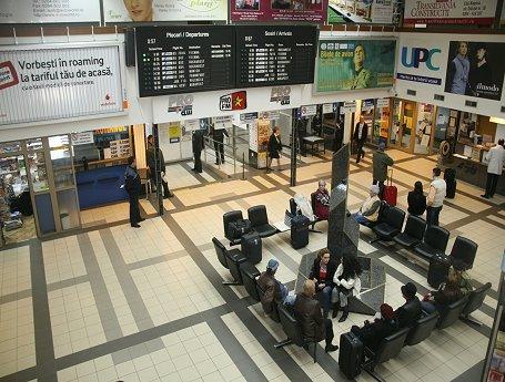 Aeroport  Cluj Napoca |  Sala de asteptare Aeroport Cluj Napoca