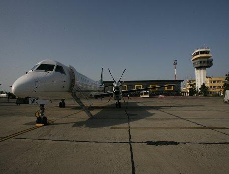 Aeroport Timisoara |  Aeronava pe Pista